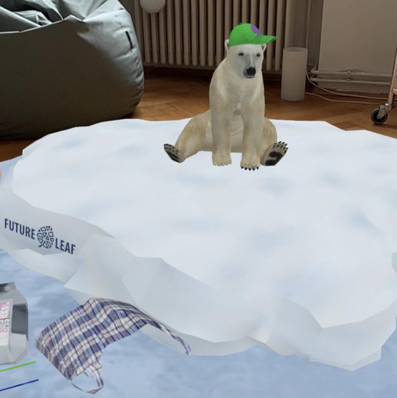 Rette den Eisbär