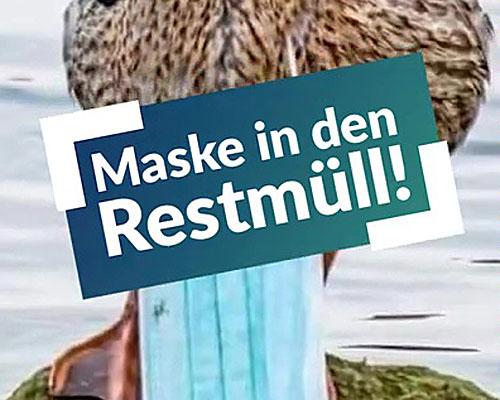 Video – SoMe Masken Restmüll