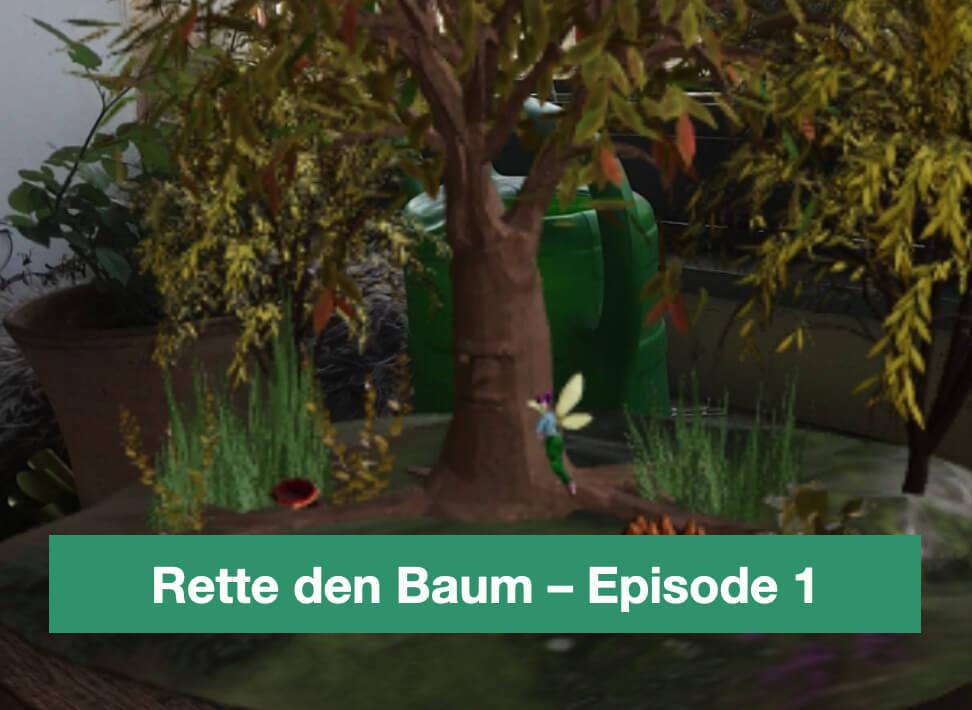 "AR-Story ""Rette den Baum"" – Episode 1"